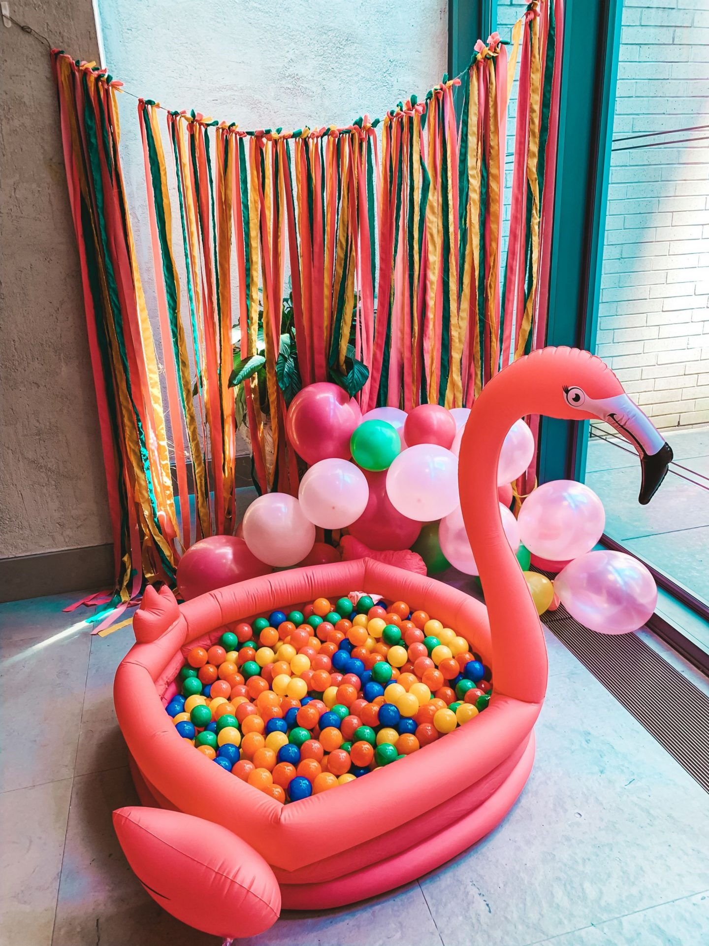 Flamingo Theme Birthday Party!!